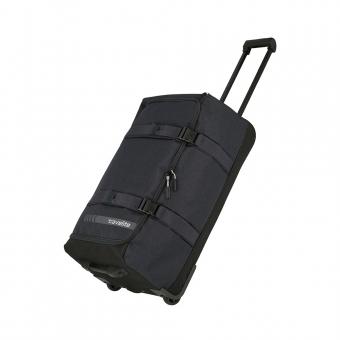 Średnia torba podróżna na kółkach kompresyjna miękka 60l Travelite szara