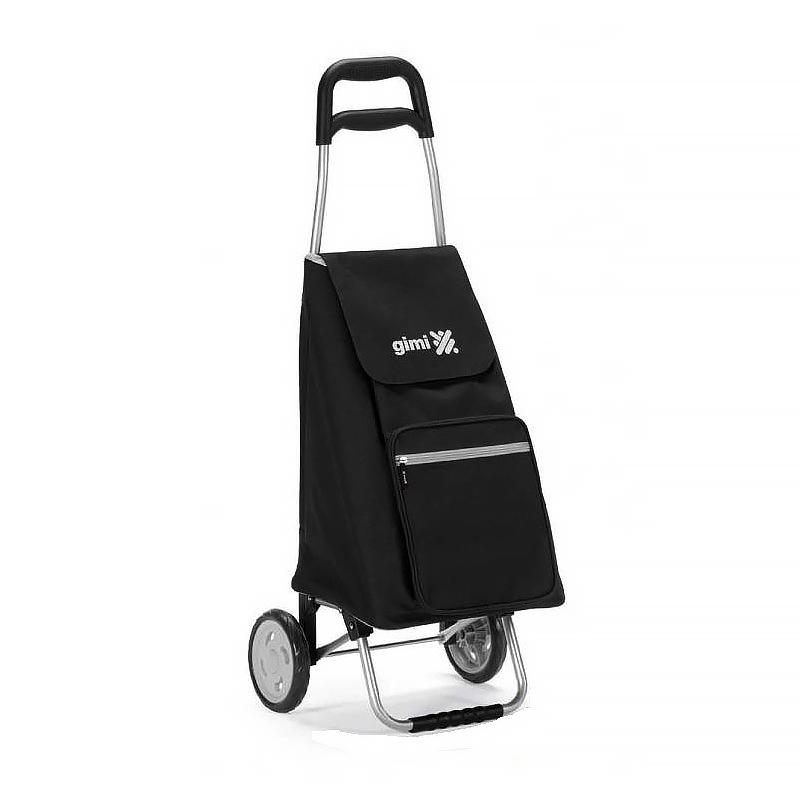 Wózek na zakupy torba na kółkach lekki składany GIMI Argo czarny