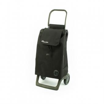 Torba wózek na zakupy na kółkach mały składany Rolser Baby012 czarny