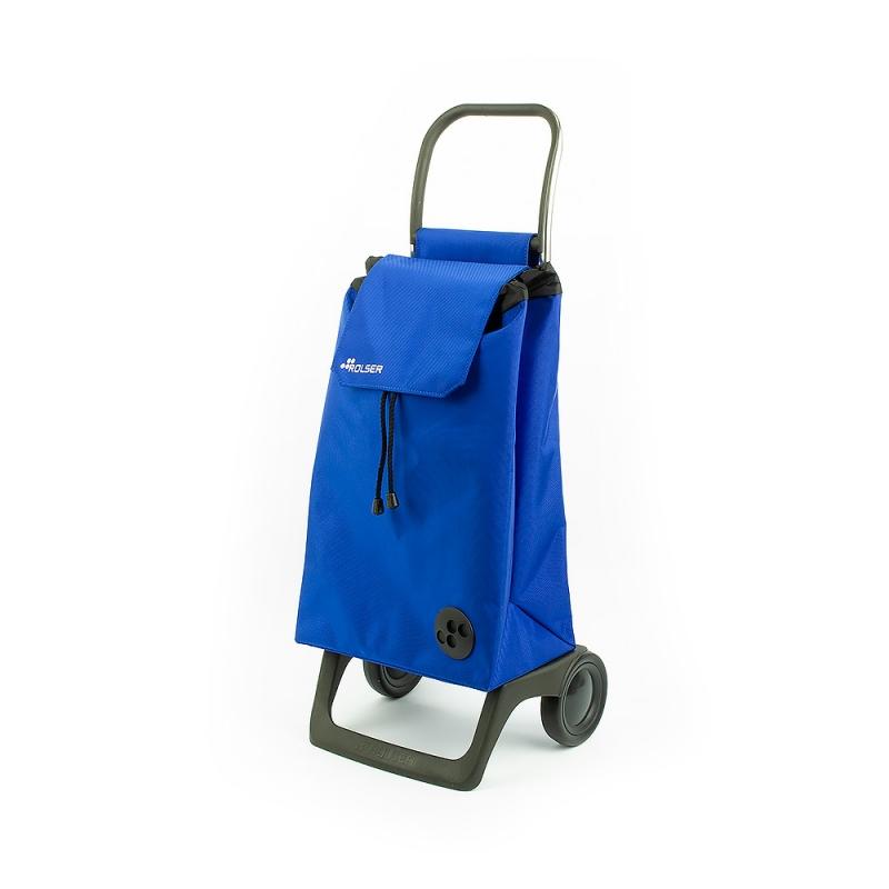 Torba wózek na zakupy na kółkach lekki składany Rolser Baby niebieski