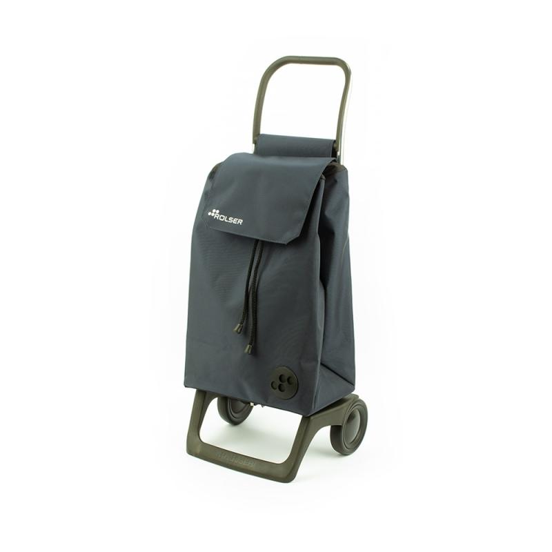 Torba wózek na zakupy na kółkach lekki składany Rolser Baby szary