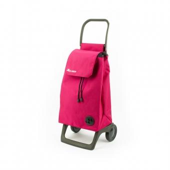 Torba wózek na zakupy na kółkach lekki składany Rolser Baby różowy
