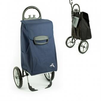 Torba wózek na zakupy na dużych kółkach usztywniana 80l XL Aurora 154