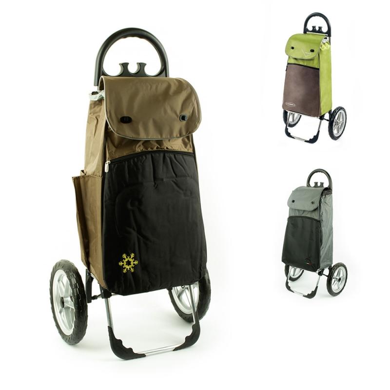 Wózek na zakupy torba na bardzo dużych kółkach AURORA Vienna 121