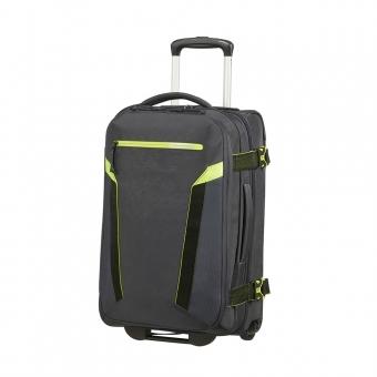 Torba podróżna kabinowa plecak na kółkach 2w1 - American Tourister szary grafitowy