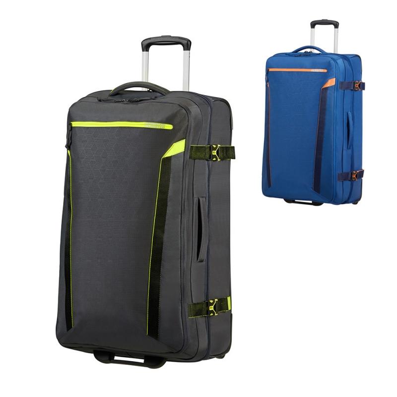 Duża torba podróżna na kółkach materiałowa 100l TSA American Tourister