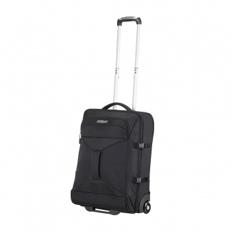 Mała walizka podróżna na kółkach kabinowa 55x40x20 American Tourister czarna