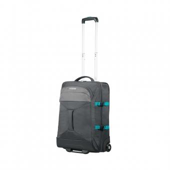 Mała walizka podróżna na kółkach kabinowa 55x40x20 American Tourister szara