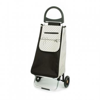 Wózek na zakupy torba na kółkach lekki, składany Aurora 125 beżowy