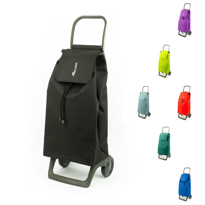 Torba wózek na zakupy na kółkach lekki składany Rolser JET001