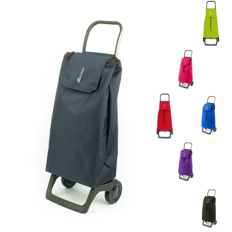Torba wózek na zakupy na kółkach lekki składany Rolser JET003