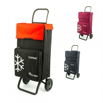 Wózek torba na zakupy na kółkach z kieszenią termiczną Rolser TER037
